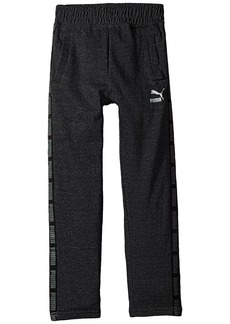 Puma Cotton Fleece Tapered Pants (Big Kids)
