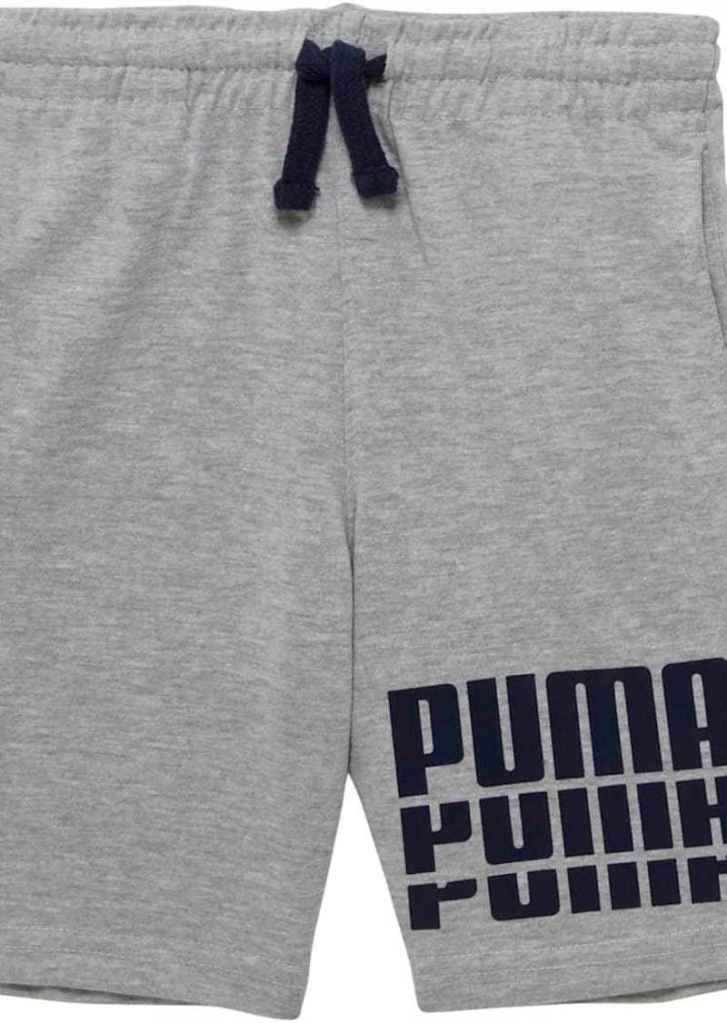 Puma Cotton Jersey Toddler Shorts