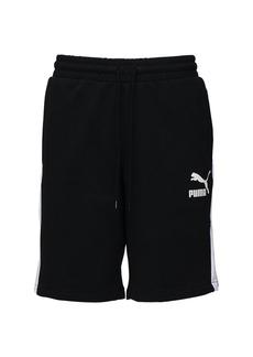 Puma Cotton Sweat Shorts W/ Side Bands