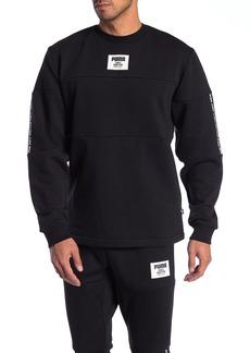 Puma Crew Neck Print Sweater