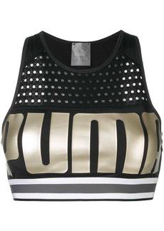 Puma cropped sports top