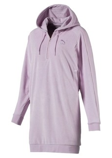 Puma Downtown Long Sleeve Hooded Women's Dress