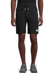 Puma Drawstring Slim-Fit Cotton Shorts