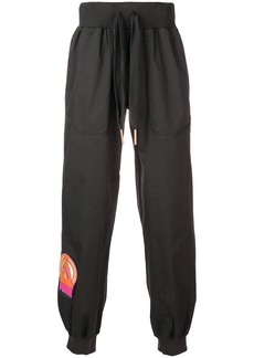 Puma elasticated waist track pants