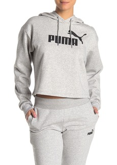 Puma Elevated Logo Crop Hoodie