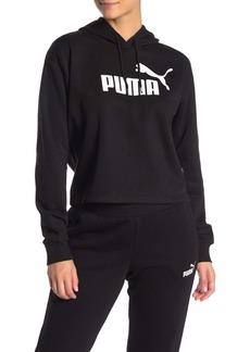 Puma Elevated Logo Crop Hoodie