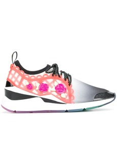 Puma embellished lace-up sneakers