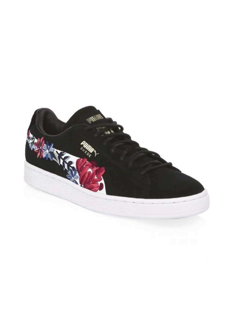 puma suede hyper embelished