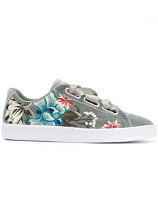 Puma embroidered Heart sneakers