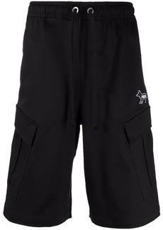 Puma embroidered-logo cargo shorts