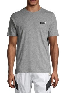 Puma Embroidered Logo Short Sleeve T-Shirt