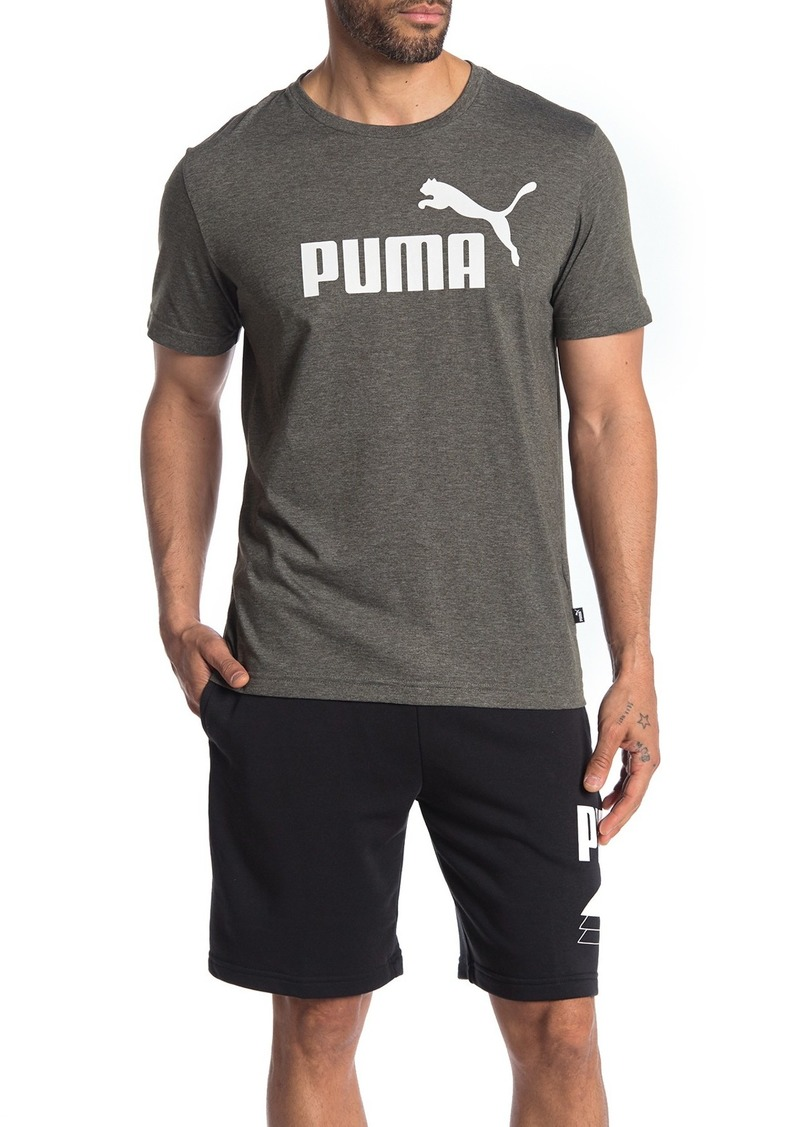 Puma Essentials+ Heather Brand Logo T-Shirt