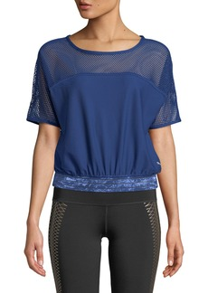 Puma Explosive Mesh Short-Sleeve Performance Top