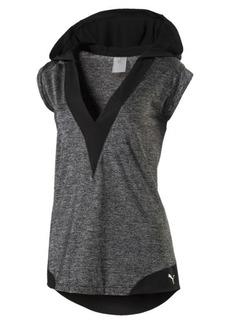 Puma Explosive Women's Short Sleeve Hooded Pullover