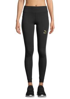 Puma Fashion Mesh T7 Stripe Leggings