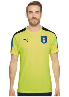Puma FIGC Italia Goalkeeper Short Sleeve Shirt