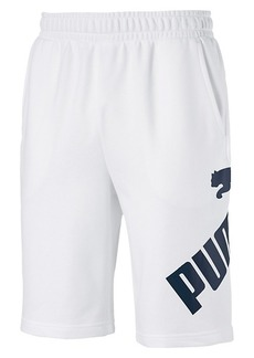 Puma Fleece Logo Shorts