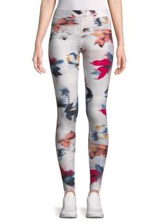 Puma Floral-Print Leggings