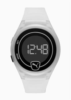 Puma Forever Faster Clear Digital Watch