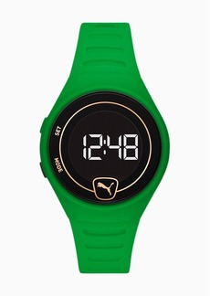 Puma Forever Faster WH Green Digital Watch