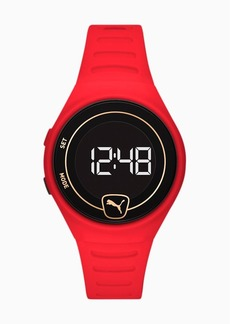 Puma Forever Faster WH Red Digital Watch