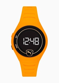 Puma Forever Faster WH Yellow Digital Watch