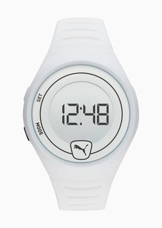 Puma Forever Faster White Digital Watch