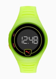 Puma Forever Faster Yellow Digital Watch