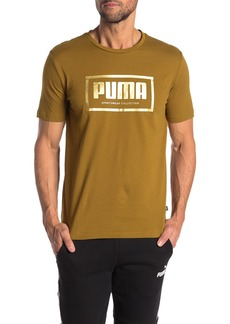Puma Front Logo Short Sleeve T-Shirt