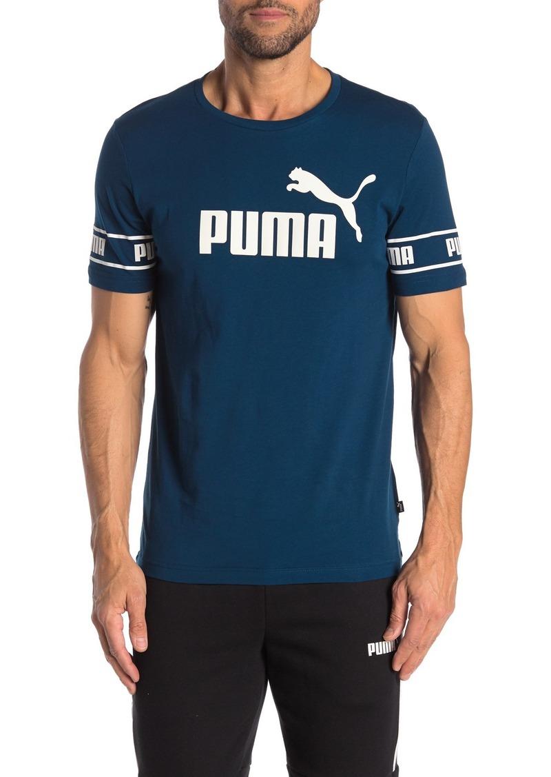 Puma Front Sleeve Logo T-Shirt