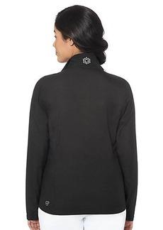 Full Zip Cresting Golf Wind Jacket