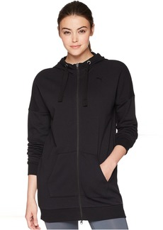 Fusion Elongated Full Zip Hoodie