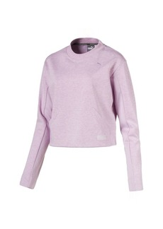 Puma Fusion Women's Cropped Crew Sweater