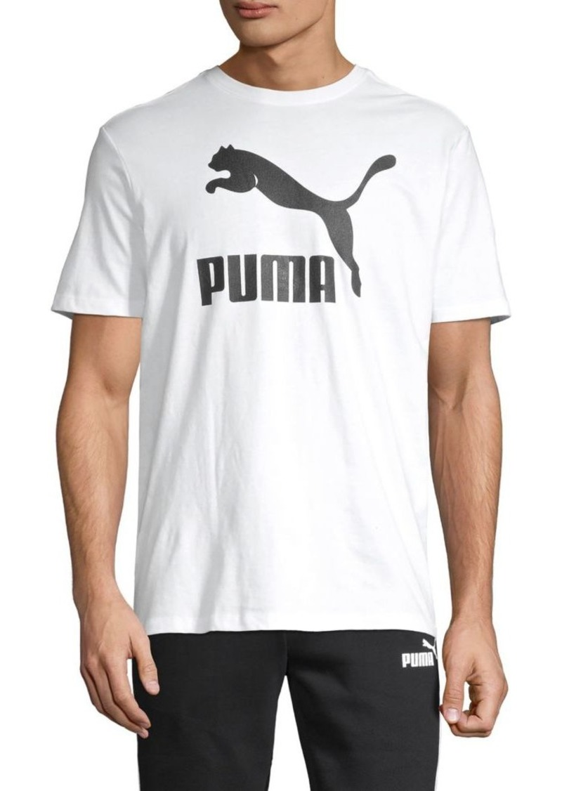 Puma Graphic Logo Cotton Tee