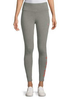 Puma Heathered Athletic Leggings