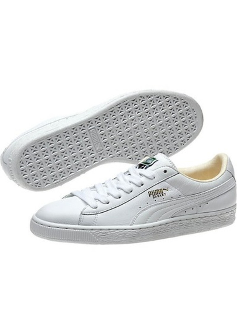 best service e4d40 6dc1f Puma Heritage Basket Classic Men's Sneakers Now $34.99