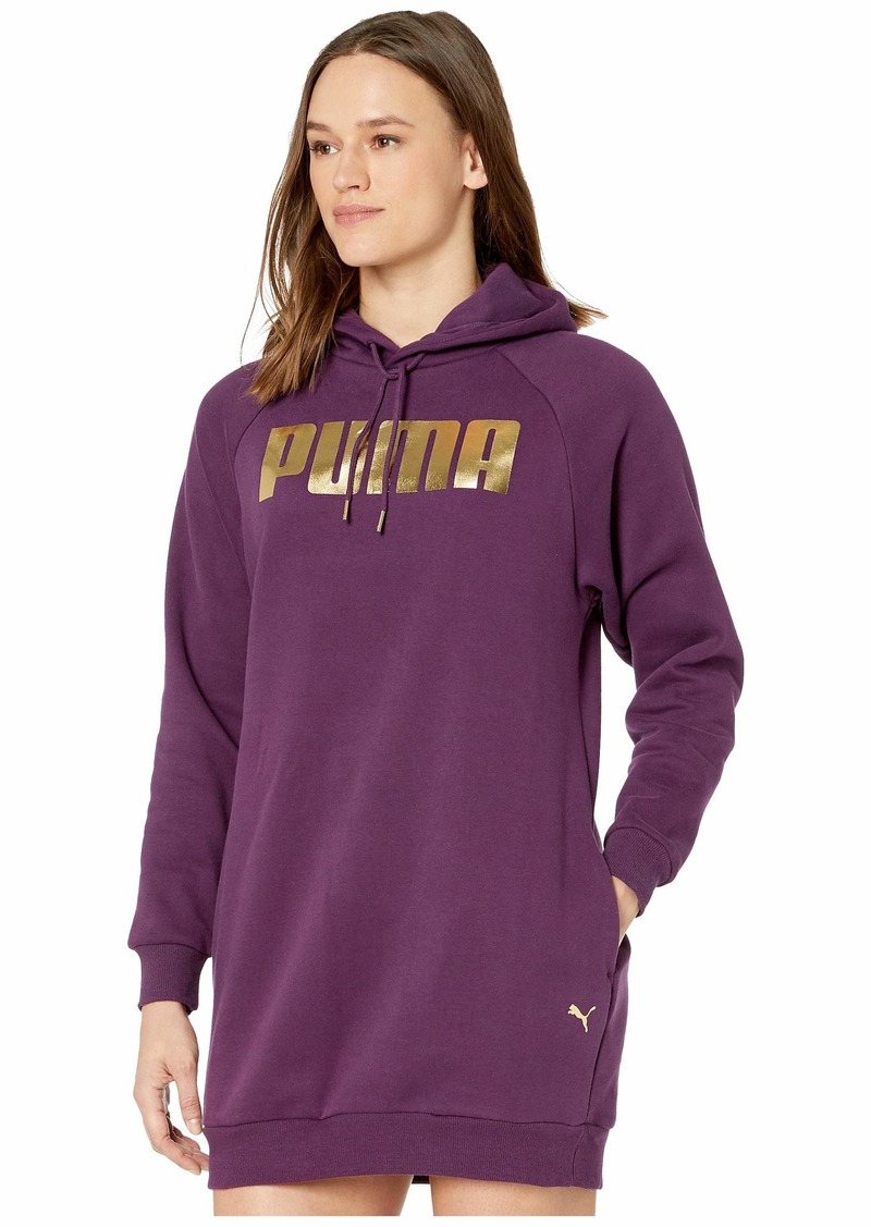 Puma Holiday Pack Fleece Sweatshirt Dress