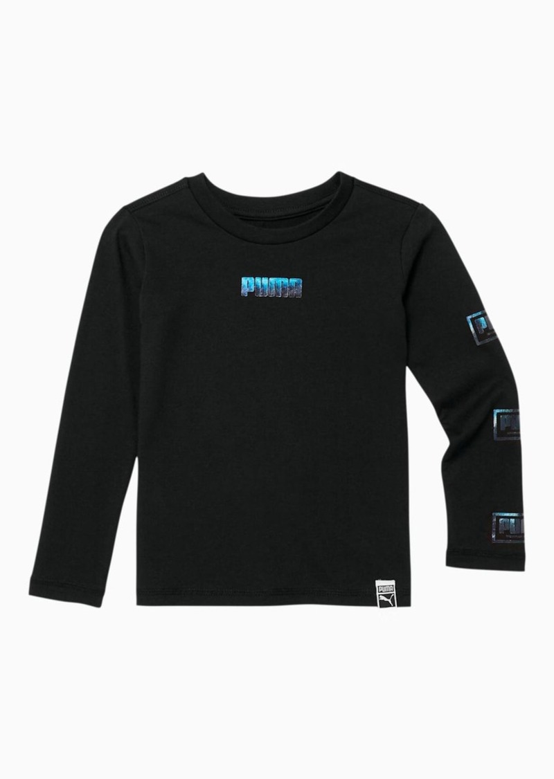 Puma Holiday Pack Toddler Long Sleeve Graphic Tee