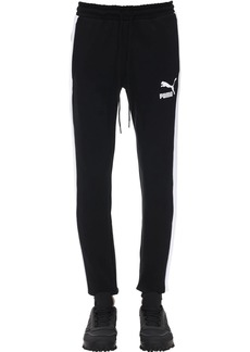 Puma Iconic Cotton Sweatpants W/ Side Bands
