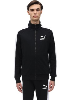 Puma Iconic Cotton Zip Sweatshirt