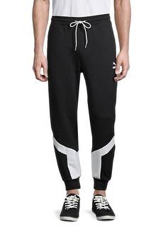 Puma Iconic MCS Stretch-Cotton Track Pants