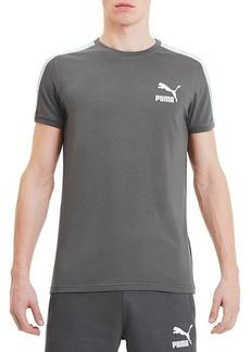 Puma Iconic T7 Slim-Fit Stretch-Cotton Tee