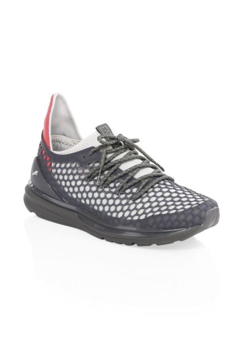 meet b85fd f2269 Ignite Limitless Netfit Strap Suede Sneakers