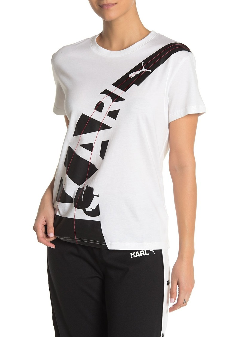 Puma Karl Front Graphic T-Shirt