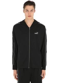 Puma Karl Hooded Jersey Track Jacket