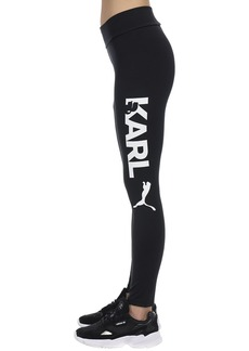 Puma Karl Lagerfeld Stretch Nylon Leggings