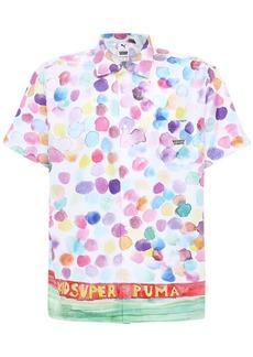 Puma Kidsuper Studios Printed Cotton Shirt
