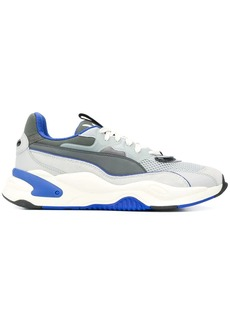 Puma lace up chunky sole trainers