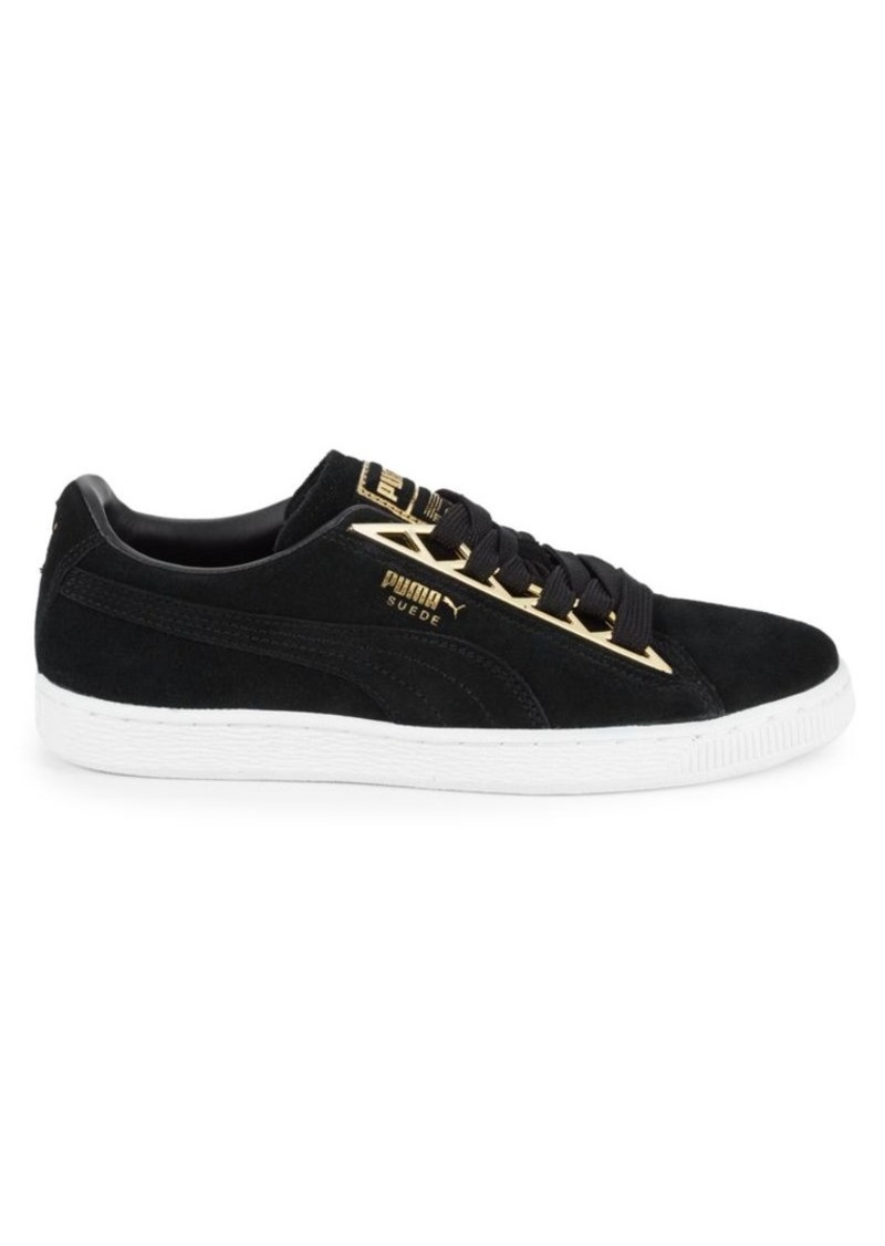 Puma Suede Jewel Metallic Sneakers