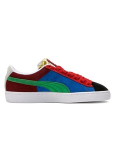 Puma Little Boy's and Boy's Classic Iconix Colourblocked Suede Sneakers